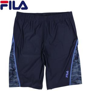 水着 メンズ フィットネス水着 フィラ FILA 男性 スパッツ型 ルーズフィット 水泳 競泳 ジム プール 練習 スイミング M L LL|timely
