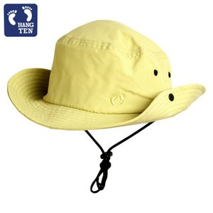 サーフハット メンズ UVハット HANGTEN(ハンテン) 紫外線防止 日焼け対策 帽子 UVカット ビーチハット 薄くて軽いマリンハット|timely