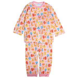 【メール便対応】 ベビーパジャマ 長袖パジャマ あかちゃん寝巻き   お肌にやさしく肌触りが良い綿1...