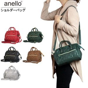 anello(アネロ) ショルダーバッグ キルティング 合成皮革 2way ミニトート アネロバッグ|timely