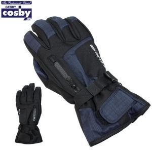 スキー 手袋 メンズ スキーグローブ 男性用 コスビー COSBY スノーボードグローブ スノーグローブ 冬 手袋 M L セール|timely