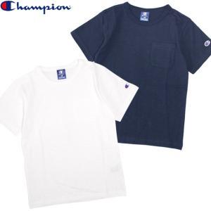 半袖 Tシャツ キッズ Champion(チャンピオン) 綿100% 子供 半袖Tシャツ 130cm 140cm 150cm 160cm|timely