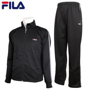 フィラ FILA ジャージ 上下セット メンズ 大人 薄手 トレーニングウェア セットアップ 運動着 FM4243|timely