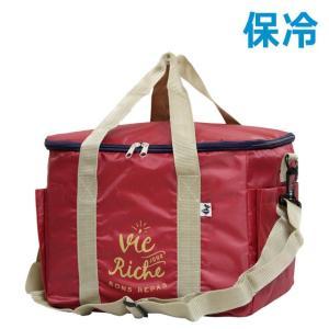 【佐川急便対応】 内側ポリエチレン素材の保冷可能ランチバッグ  バッグの上部にはファスナーが付いてい...