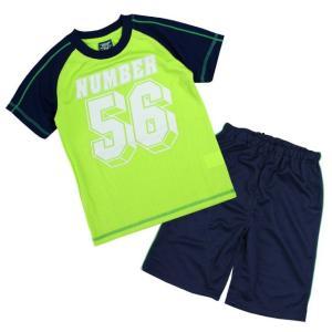 Tシャツ 子供 キッズ 男の子 半袖Tシャツとハーフパンツの上下セット スポーツウェアにも部屋着にも 薄手で涼しいティーシャツ|timely
