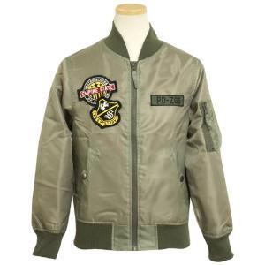 ジャケット MA-1 ミリタリージャケット 子供 ジュニア ...