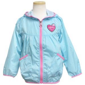 ウインドブレーカー 女の子 子供 キッズ ジャンパー フード付き 裏メッシュ パーカー ジャケット N81053|timely