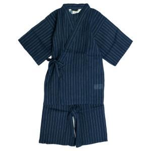 甚平 子供 ジュニア 男の子 綿100% しじら織り 無地 じんべい スーツ上下 祭 甚平 部屋着 寝まき パジャマ 子供甚平 全3色