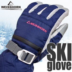 WEISSHORN(ワイスホルン) スキーグローブ ジュニア 女の子 子供用 スキー手袋 三層式で防水・防寒 スノーグローブ|timely