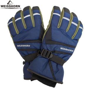 WEISSHORN(ワイスホルン) スキーグローブ メンズ 男性用 スキー手袋 三層式で防水・防寒 スノーグローブ|timely