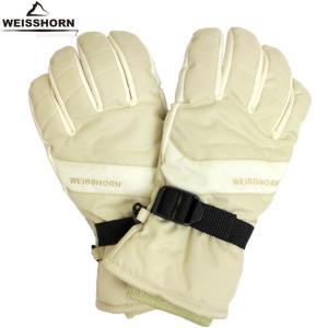WEISSHORN(ワイスホルン) スキーグローブ レディース 女性用 スキー手袋 三層式で防水・防寒 スノーグローブ|timely