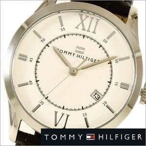 トミーヒルフィガー/Tommy Hilfiger/レザーバンド/メンズ腕時計/1710207|timemachine