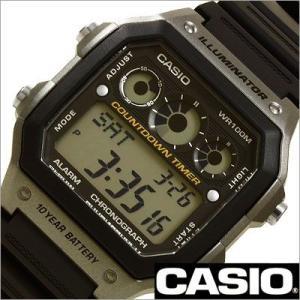カシオ/CASIO/スタンダード/海外品/クオーツ/デジタル表示/ストップウォッチ/メンズ腕時計/AE-1300WH-8A