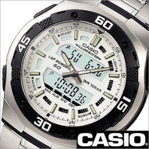 カシオ/CASIO/スタンダード/海外品/クオーツ/デジアナ表示/ストップウォッチ/デュアルタイム/チープカシオ/チプカシ/メンズ腕時計/AQ-164WD-7A|timemachine
