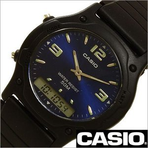 カシオ/CASIO/スタンダード/クオーツ/デジアナ表示/ストップウォッチ/デュアルタイム/メンズ・レディース腕時計/AW-49HE-2A