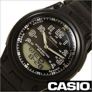 カシオ/CASIO/スタンダード/クオーツ/デジアナ表示/ストップウォッチ/メンズ腕時計/AW-80V-1B