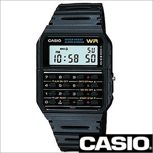 カシオ/CASIODATA BANK/データバンク/クオーツ/デジタル表示/ストップウォッチ/計算機/電卓/メンズ腕時計/CA-53W-1