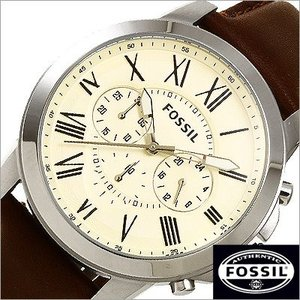 フォッシル/FOSSIL/GRANT/グラント/クオーツ/アナログ表示/クロノグラフ/メンズ腕時計/FS4735|timemachine