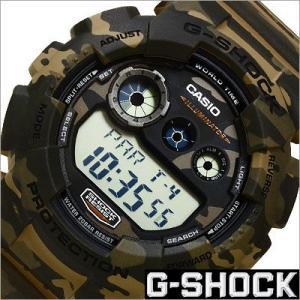 カシオ/CASIO/G-SHOCK/Gショック/海外品/クオーツ/デジタル表示/ストップウォッチ/カモフラージュ/迷彩柄/メンズ腕時計/GD-120CM-5