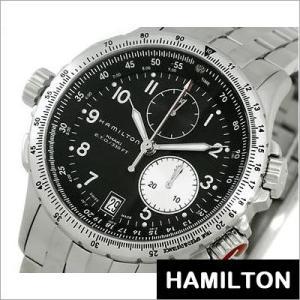 ハミルトン/HAMILTON/KHAKI ETO/カーキ イーティーオー/クロノグラフ/ステンレスバンド/メンズ腕時計/H77612133|timemachine