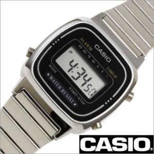 カシオ/CASIO/スタンダード/正規品/クオーツ/デジタル表示/ストップウォッチ/レディース腕時計/LA670WA-1JF