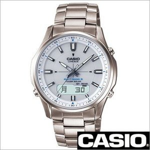 カシオ/CASIO/LINEAGE/リニエージ/正規品/電波時計/タフソーラー/アナログデジタル/チタン/メンズ腕時計/LCW-M100TD-7AJF
