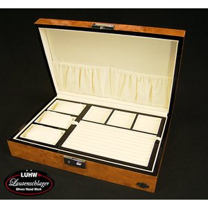 ローテンシュラーガー/LUHW時計3収納ケース+ジュエリー収納 鍵付き/LU-5003RW|timemachine