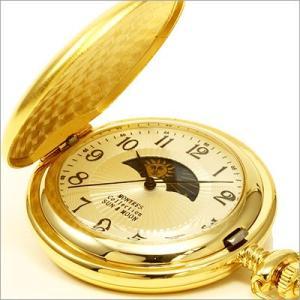 モントレス/MONTRES/アナログ表示/ポケットウォッチ/サン&ムーン/メンズ・レディース懐中時計/MC-900-GA|timemachine