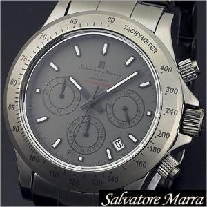 サルバトーレマーラ/Salvatore Marra/クオーツ/アナログ表示/クロノグラフ/タキメーター/メンズ腕時計/SM12117-GY timemachine