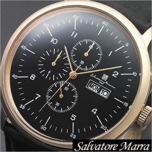 サルバトーレマーラ/Salvatore Marra/クオーツ/アナログ表示/クロノグラフ/メンズ腕時計/SM12124-PGBK timemachine