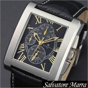 サルバトーレマーラ/Salvatore Marra/クオーツ/アナログ表示/クロノグラフ/メンズ腕時計/SM13104-SSBKGD timemachine