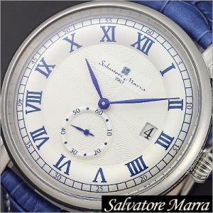 サルバトーレマーラ/Salvatore Marra/クオーツ/アナログ表示/メンズ腕時計/SM13121-SSWHBL timemachine