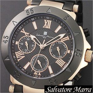 サルバトーレマーラ/Salvatore Marra/クオーツ/アナログ表示/マルチカレンダー/メンズ腕時計/SM14118-PGBK timemachine