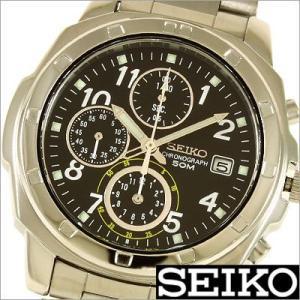 セイコー/SEIKO/海外品/セイコークロノ/クロノグラフ/ステンレスバンド/メンズ腕時計/SND195P1 timemachine