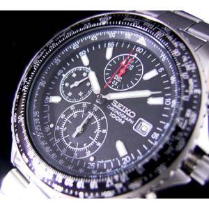 セイコー/SEIKO/海外品/セイコークロノ/クロノグラフ/ステンレスバンド/メンズ腕時計/SND253P1 timemachine