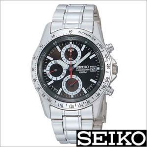 セイコー/SEIKO/海外品/セイコークロノ/クロノグラフ/ステンレスバンド/メンズ腕時計/SND371P timemachine