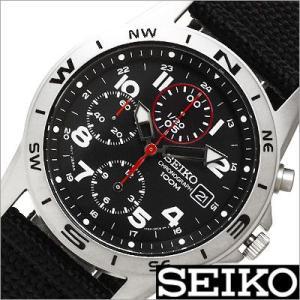 セイコー/SEIKO/海外品/セイコークロノ/クロノグラフ/ナイロンバンド/メンズ腕時計/SND399P timemachine