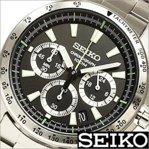 セイコー/SEIKO/海外品/セイコークロノ/クオーツ/アナログ表示/クロノグラフ/タキメーター/メンズ腕時計/SSB027P1 timemachine