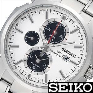 セイコー/SEIKO/海外品/ソーラー/アナログ表示/クロノグラフ/アラーム/メンズ腕時計/SSC083PC timemachine