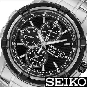 セイコー/SEIKO/海外品/ソーラー/アナログ表示/クロノグラフ/アラーム/メンズ腕時計/SSC147PC timemachine