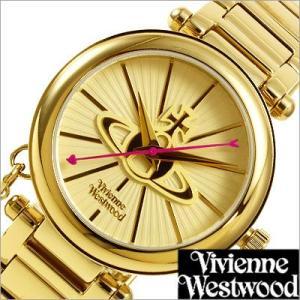 ヴィヴィアンウエストウッド/Vivienne Westwood/クオーツ/アナログ表示/チャーム付/レディース腕時計/VV006KGD|timemachine