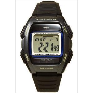 メール便で送料無料/代引き・ラッピング不可/カシオ/CASIO/スタンダード/海外品/ソーラー/デジタル表示/ストップウォッチ/メンズ腕時計/WL-500-1A|timemachine|02