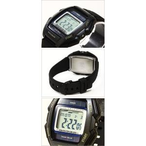 メール便で送料無料/代引き・ラッピング不可/カシオ/CASIO/スタンダード/海外品/ソーラー/デジタル表示/ストップウォッチ/メンズ腕時計/WL-500-1A|timemachine|03