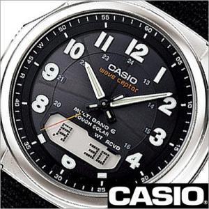 カシオ/CASIO/Wave Ceptor/ウェーブセプター/正規品/ソーラー電波時計/デジアナ表示/ストップウォッチ/マルチバンド6/メンズ腕時計/WVA-M630B-1AJF