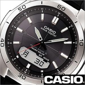 カシオ/CASIO/Wave Ceptor/ウェーブセプター/正規品/ソーラー電波時計/デジアナ表示/ストップウォッチ/マルチバンド6/メンズ腕時計/WVA-M640-1AJF|timemachine