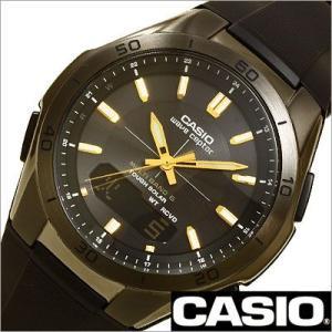 カシオ/CASIO/WAVE CEPTOR/ウェーブセプター/正規品/ソーラー電波/デジアナ表示/ストップウォッチ/マルチバンド6/メンズ腕時計/WVA-M640B-1A2JF