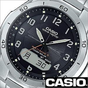 カシオ/CASIO/Wave Ceptor/ウェーブセプター/正規品/ソーラー電波時計/デジアナ表示/ストップウォッチ/マルチバンド6/メンズ腕時計/WVA-M640D-1A2JF|timemachine