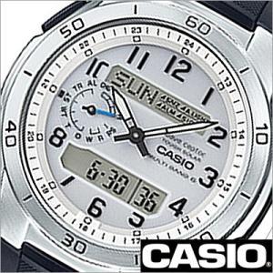 カシオ/CASIO/Wave Ceptor/ウェーブセプター/正規品/ソーラー電波時計/デジアナ表示/ストップウォッチ/マルチバンド6/メンズ腕時計/WVA-M650-7AJF|timemachine