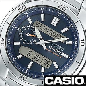 カシオ/CASIO/Wave Ceptor/ウェーブセプター/正規品/ソーラー電波時計/デジアナ表示/ストップウォッチ/マルチバンド6/メンズ腕時計/WVA-M650D-2AJF