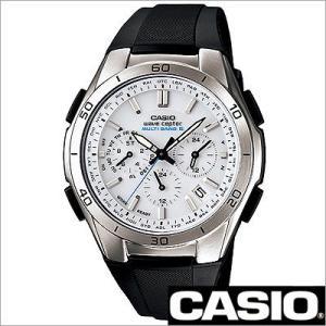 カシオ/CASIO/WAVE CEPTOR/ウェーブセプター/正規品/ソーラー電波時計/アナログ表示/ストップウォッチ/マルチバンド6/メンズ腕時計/WVQ-M410-7AJF